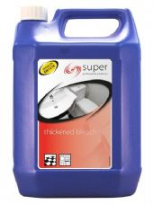 Coventry Chemicals Super Thickened Bleach - 5L Clear